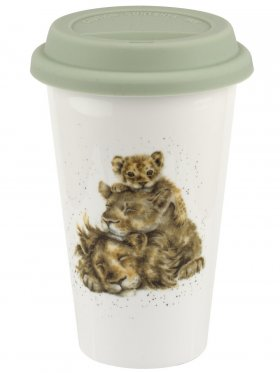 Royal Worcester Travel Mug - Lions